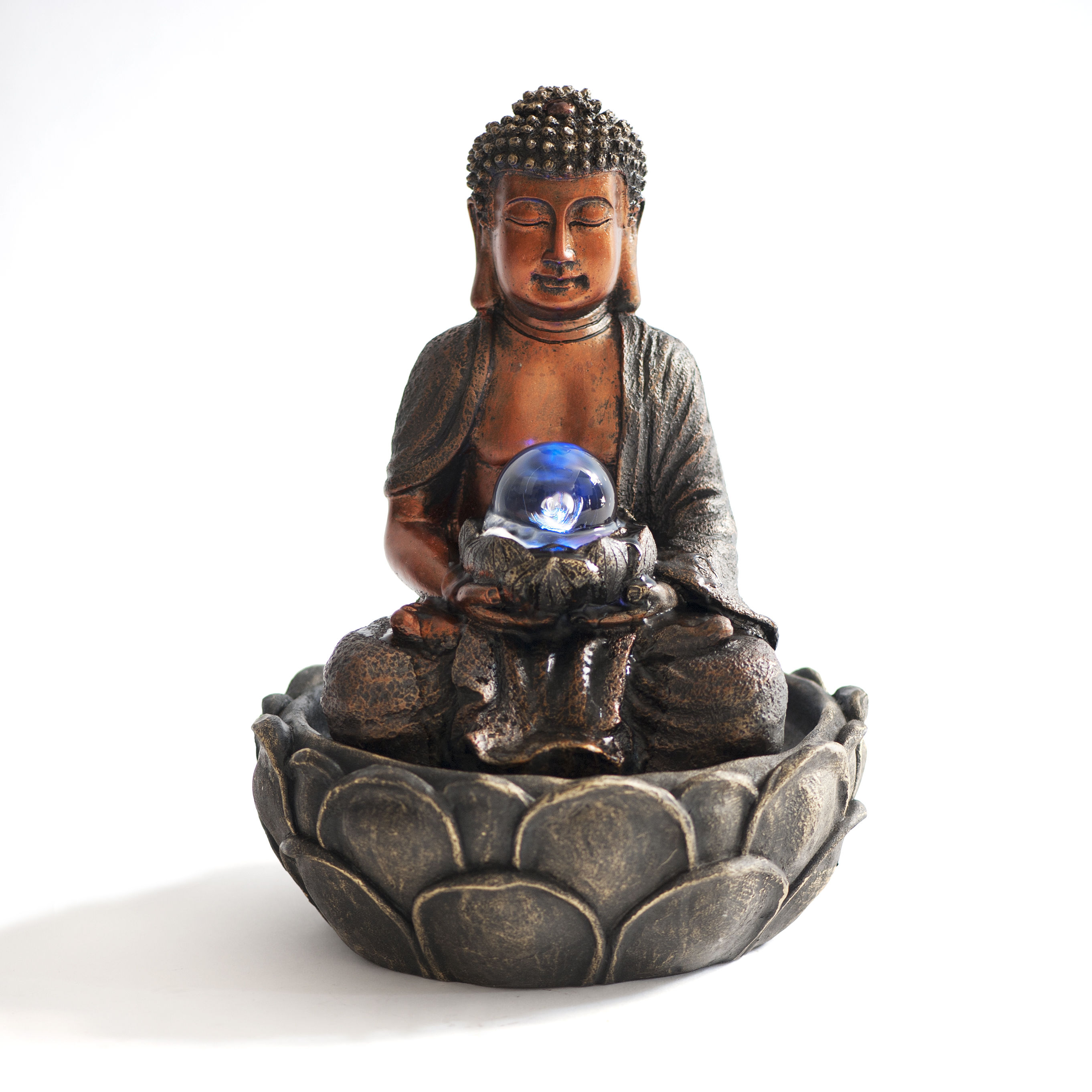 Fontanella buddha multicolor zenenergy for Fontanelle zen